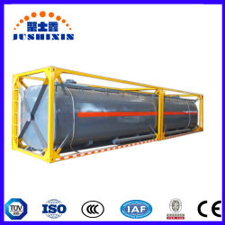 20FT ISO/T11 T14 Réservoir de stockage de produits chimiques liquides/40FT ISO Conteneur de réservoir d'acide