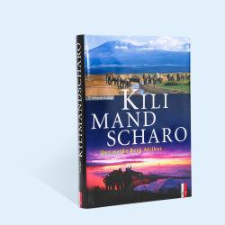 Cas personnalisé de haute qualité Livre à couverture rigide Impression de livres de fiction