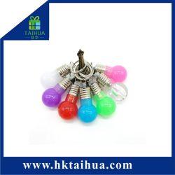 Mini-Série Lâmpada LED coloridos Chaveiro