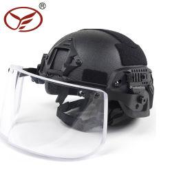 Michの防弾ヘルメットAramid軍のNij証明される0101.06 Iiia