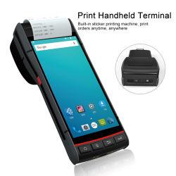 Android Market 9.0 PDA com Builtin /Recepção Impressora Térmica de Impressora/Scanner de código de barras
