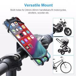 На велосипеде по телефону, 360° силиконовый держатель телефона на велосипеде, Велосипедный мотоциклов подходит для iPhone 11 PRO Max/Xr