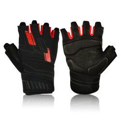 Halve Vinger van de Manier van de Vorm van de VERLOSSER Gloves de Nieuwste het Cirkelen de Handschoenen van de Sporten van het Gewichtheffen van de Gymnastiek van de Fitness