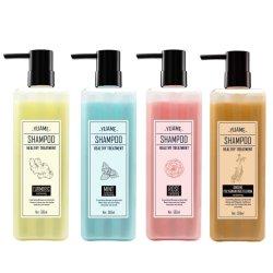 De bloemrijke Shampoo van het Product van de Zorg van de Behandeling van het Haar van de AntiHoofdroos Bacteriostasis van de Geur van de Installatie Kruiden Bevochtigende In het groot Kosmetische