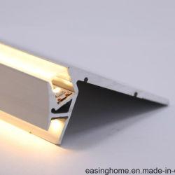 Profilo di alluminio di /Step LED della scala o scala /Step che illumina Light Escalera De Luz