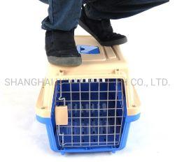 Commerce de gros frais de voyage durables personnalisé à l'extérieur de la cage pour animaux de compagnie aérienne portable