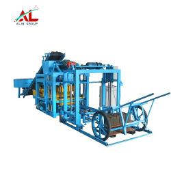 Qtj4-25D hormigón totalmente automática máquina bloquera hueco pavimentadora Precio