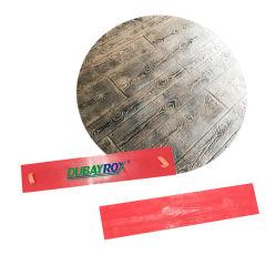 Cemento senza giunte del poliuretano di struttura del bollo della stuoia dell'ardesia della pietra della muffa di legno concreta del mattone
