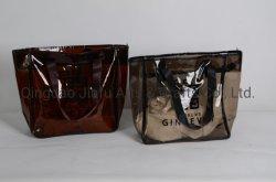 Fashion Bag Hongkong Stil Customized Printing Frauen Mädchen Gefaltet Kosmetische Tasche Wasserdichte Reisetasche