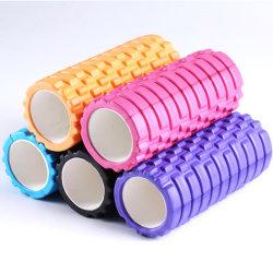 Rullo ad alta densità della gomma piuma di yoga di EVA di massaggio del muscolo di forma fisica per i muscoli relativi alla ginnastica
