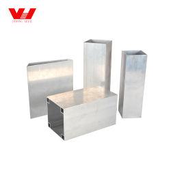 Profilé en aluminium extrudé pour barres rectangulaires plates, inserts muraux à lattes