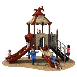 Gioco esterno personalizzato Castello Bambini Parco giochi in plastica Parco per bambini scivolo WK-A210525K
