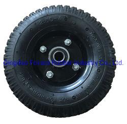 Carrello manuale ruota in gomma pneumatica piccola 2.50-4