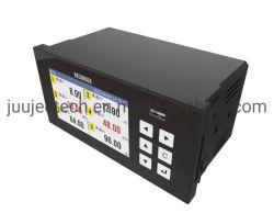 Uscita del relè della barra della curva della termocoppia dello schermo a colori del registratore su carta di temperatura 6channels 4-20mA PT100 K