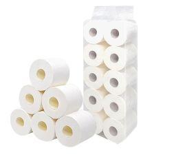 Soft cómodo rodillo Jumbo de pulpa de madera virgen 3 capas de tejido de papel higiénico de tejido