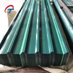 أفضل سعر بناء المواد PPGI الصلب ورقة السقف المموج