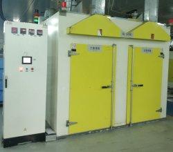 Forno de secagem do gás eléctrico industrial forno de cura para a linha de revestimento
