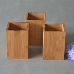작은 목제 보석 손 끈 팔찌 대나무 상자