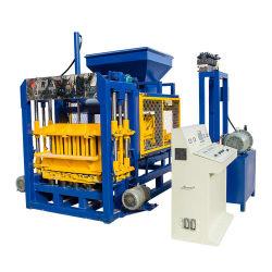 Qt4-16 pleine couleur hydraulique automatique Paver Interlocking Building creux des cendres volantes solide de sable avec machine à fabriquer des briques de blocs de béton de ciment le plus bas prix