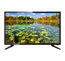 شاشة ذكية مسطحة LCD ملونة بحجم 55 بوصة تلفزيون