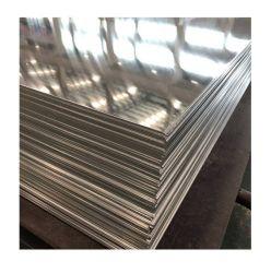 Aangepaste verwerking 0-H112, T3-T8, T351-851, 1050 1060 1100 2024 3003 3005 5005 5052 5083 6061 6063 7071 7075 8011 8082 aluminium spiraalplaat met reliëf in kleur