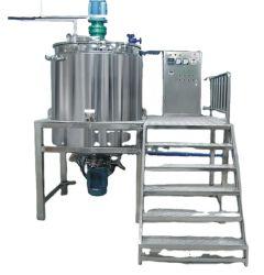 Mermelada de frutas salsa máquina de hacer alimentos líquidos cosméticos homogeneizador mezclador