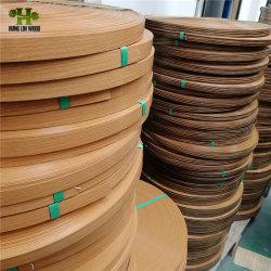 خشب مطر حافة عالية لامعة من الألومنيوم المنقوش بنقوش بارزة PVC لمدة طاولة الأثاث المعدنية