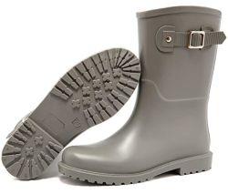 China Fornecedor Entrega Rápida Senhoras Design de Moda suas próprias botas de chuva