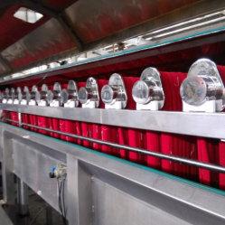 Macchina per tintura a getto di filati Hank Jigger per uso di tintura