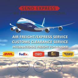 يتم شحن العلامات التجارية، والطعام، ومستحضرات التجميل بواسطة شركة Air Express إلى فرنسا وبلجيكا، ويتم توصيل وحدة UPS إلى الباب