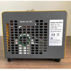 Ce 10g/H 20g/h de uso doméstico portátil 20g esterilizador de ar do gerador de ozônio