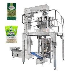 자동 시리얼 곡물 레ume 콩 라이스 시드 피넛 펄스 달 완두콩 그린 콩 콩 순꽃 그래뉼라 배프 수직 포장 포장 기계