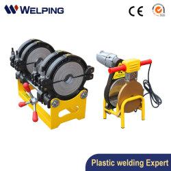 63 160 mm tuyau de gaz en PEHD Machine à souder/PP PE Plastique manuel de l'eau PPR Butt Fusion/électrique de l'équipement de raccordement Soudeur/ISO prix d'usine SGS CE/Chine