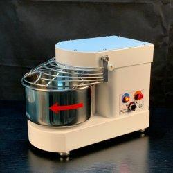 7L misturador de massa em espiral da mesa de mistura da massa de 3 kg de farinha misturador de massa