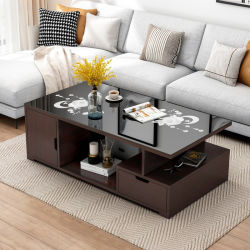 심플하고 창의적인 모던 홈 거실 작은 아파트 작은 티 테이블, 가구 0008