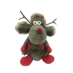 Kerstmis Rendieren Craft Decoratie gevulde pluche Toy Figure Kerst rendier Figuurtjes