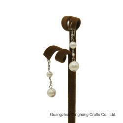 電気めっきしなさい及び電気泳動の水晶ナシの模造の真珠の長い低下は女性の宝石類のためのEarringssの方法宝石類をぶら下げる