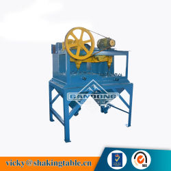 低価格の採鉱プラントのための高い有効絞りのジグ