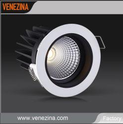 IP44 90LM/W 6W 10Вт светодиод початков алюминия вниз потолочный фонарь направленного света лампы