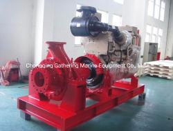 O combate ao incêndio externo marinho Fifi Sistema de combate a incêndio a diesel da bomba de água