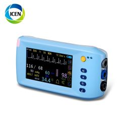 Medizinische HandIN-C001 touch Screen Capnography Überwachungsgerät-Einheit 15 Zoll
