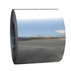 Ddq acabado ba banda de acero inoxidable laminado en frío de las bobinas de hoja
