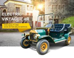 Luxury 4 Rodas antigo motor AC Brushless Vintage clássico carro eléctrico
