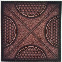 Los diseños de cuero PVC film laminado PVC Paneles Los paneles del techo de PVC Panel de pared