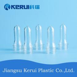 Cuello de 38mm 25.5g de peso de llenado de agua caliente de China de preformas de botellas PET