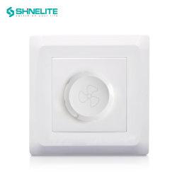 86x86mm plaque en plastique de 250 W pour la maison de l'interrupteur rhéostat