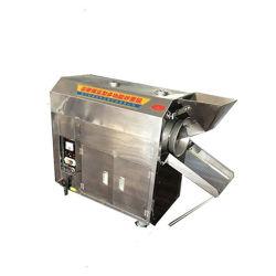 Небольшие партии потенциала какао бобов миндаль Roaster гайки кукурузы жарки арахис оборудование системы охлаждения