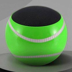 Cadeaux de promotion bon marché Gadget balle de tennis 500mAh Bluetooth Mono multifonctionnelle hi-fi de l'Orateur