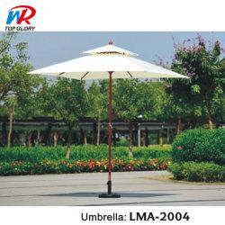مظلة شاطئ سان باراسول الخارجية الترويجية مع طباعة شعار براند