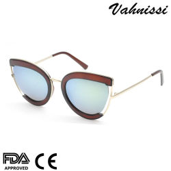 2021 고품질 트렌딩 저가 도매 PC UV400 사용자 정의 로고 이중초점 선글라스